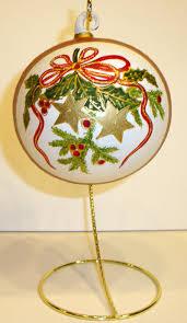 hand painted austrian ornament