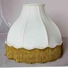 Lamp Shades: 10 elegant glass bell lamp shades Scalloped Bell Lamp ...