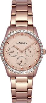 <b>Часы</b> наручные <b>женские Morgan</b>, MG 006S/2TM, розовый