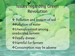 ppt green revolution  future generations 13 need for second green revolution