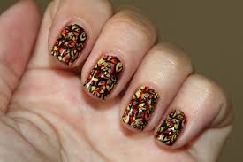 Thanksgiving Nail Art Designs Or By 25 Inspiring Easy Thanksgiving ...
