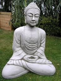 small image of giant buddha garden statue bd30