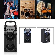 radio for office. NEW Upgraded Portable Handheld Outdoor Bluetooth Stereo Wireless Speakers  FM Radio TF Card AUX Music Player Radio For Office