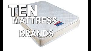 mattress brands. Top Ten Mattress Brands In India
