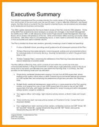 7 Executive Summary Report Example Template Project Status