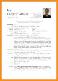 Curriculum Vitae Template Pdf Resume Curriculum Vitae Template 8 Cv