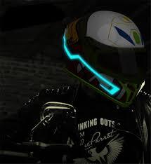 Motorcycle Helmet Light Kit Us 9 52 45 Off Ready Stock Motorcycle Helmet El Cold Light Mod Kit Tron Helmets Mode Night Time Riding Signal Flashing Lights Strip Bar Diy In