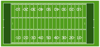football solution   conceptdraw comhorizontal colored football field sample horizontal colored football field template