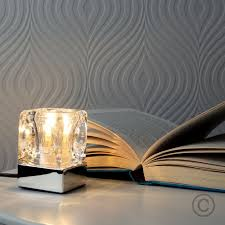 Ice Cube Table Lights Ice Cube 10cm Table Lamp Home Touch Table Lamps Table