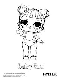 Queen Bee Glitter Lol Surprise Doll Coloring Page Lotta Lol