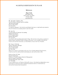 Template Reference List Sample Resumes With References Fungramco Resume Reference List