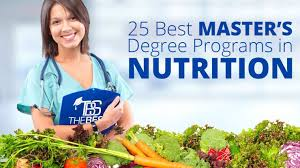 the 25 best master s degree programs in nutrition