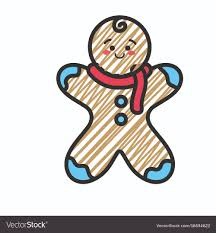 Free Cookies Sticker Design Isolated Cookie Design