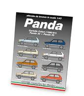 1980 81 Fiat Panda Color Chart Brochures And Catalogs