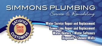 plumbers lincoln ne. Brilliant Plumbers Water Service Repair And Replacment Sewer Repair Water Heaters  Softeners Disposals Call Simmons Plumbing  On Plumbers Lincoln Ne