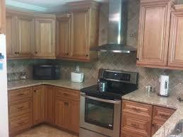 cinnamon maple glazed kitchen cabinets quicuacom