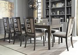 Furniture 4 Less Outlet Chadoni Gray Rectangular Dining Room