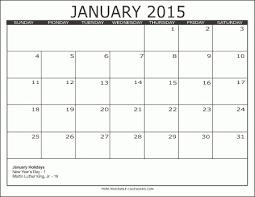 Printable Calendar 2015 Monthly 2015 Free Printable Calendars Free Printable Calendars In Monthly