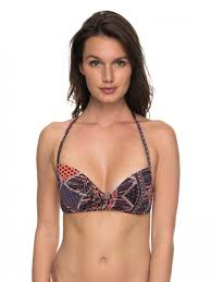 Sps Hair Colour Chart Womens Black Swimwear Roxy Festival Bazar Wrap Halter Separate Top Anthracite Sps 9071 Titifrutty