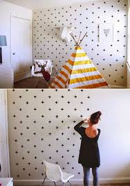 Cute Girl Room With Wasi Tape Wallpaper