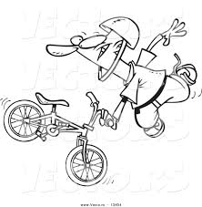 Drawn motorcycle bmx bicycle 13