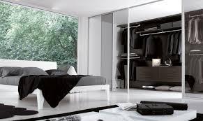 black and white wardrobe glass sliding door closet shelves dark brown drawers walk in closet ikea image