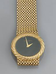 a 9ct gold wristwatch by bueche girod mechanical watches a 9ct gold wristwatch by bue
