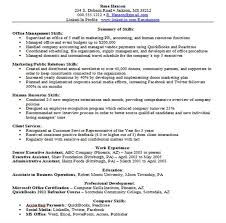 Top Resume Builder Fascinating Examples Of Professional Skills Basic Sample Resume Builder