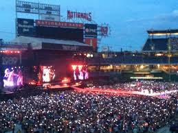 Nationals Park Concert Seating Chart Nationals Park Section 206 Concert Seating Rateyourseats Com