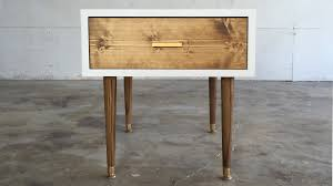 amazing end table modern throughout diy mid century modern end table builds ep 29 you plan