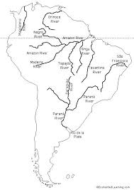 Latin America Outline Maps Blank Outline Map North And South America Physical Magicfantasy Info