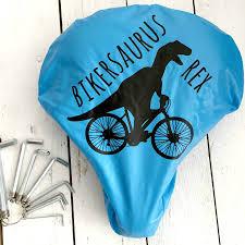 bike accessory dinosaur rain bike seat cover