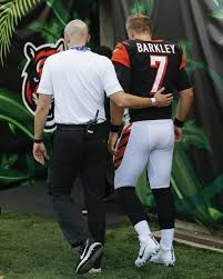 Backup Qb Matt Barkley Hurt As Bengals Lose To Colts 27 26