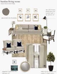 Interior Design Concept Development Boards   Room Design On A Interior Design Plans Living Room