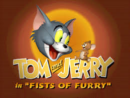 tom jerry in fists of furry nintendo 64 screenshot