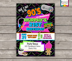 90s birthday party invitations new birthday party invitations australia picture ideas references
