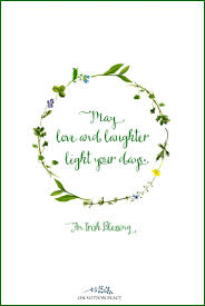may love and laughter light your day irish blessing free printables for st patrick s on irish blessing wall art with irish blessing free printables for st patrick s day 3 designs