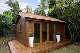Small Picture small contemporary garden office with green roof smallest garden