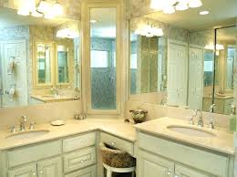 corner double sink vanity bathroom my web value vanities sinks for interior dimensions corner double