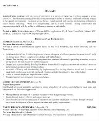 Executive Assistant Career Objective Resume Examples Executive Assistant Administrative Assistant Job