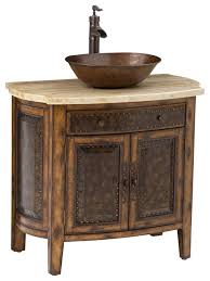 single sink traditional bathroom vanities.  Traditional Rustico Vessel Sink Chest Traditional Bathroom Vanities And Pertaining  To With Sinks Plan  Throughout Single