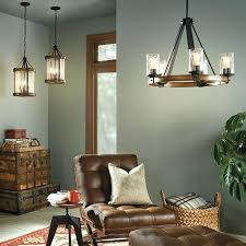 kichler lighting barrington amazing chelier anvil iron and driftwood a28