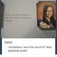 Quotes About High School New Master Has Given Megan A High School Diploma Megan Is Llegan Klartie