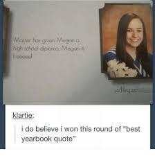 Quotes About High School New Master Has Given Megan A High School Diploma Megan Is Llegan Klartie