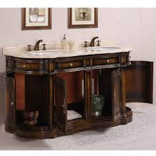 66 inch double sink vanity. antique 66 inch myra beige marble top brown double bathroom vanity sink i