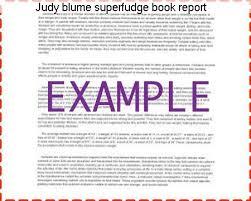 Superfudge book report