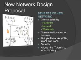 sample network proposal network proposal ppt