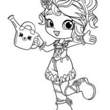 Extraordinary Idea Coloring Pages For Girls Shopkins Print Cute Girl
