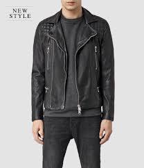 allsaints rowley leather biker jacket all saints leather jacket