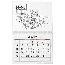 Customizable Calendar 2015 Custom Calendar Coloring Pages 2015 For Kids